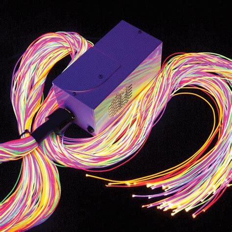 fiber optic light strands fiber optics wearable electronics studio