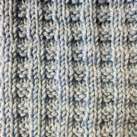 how to knit purl a scarf pattern crafty