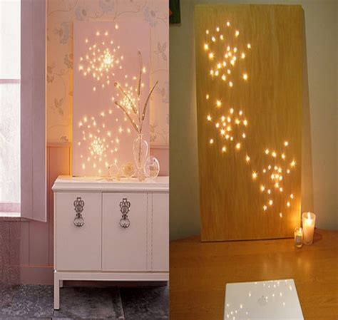 home decor light diy wall decor lighting original diy wall decor with