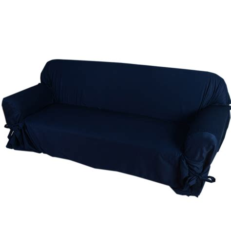 navy blue sofa slipcovers navy blue sofa cover thesofa