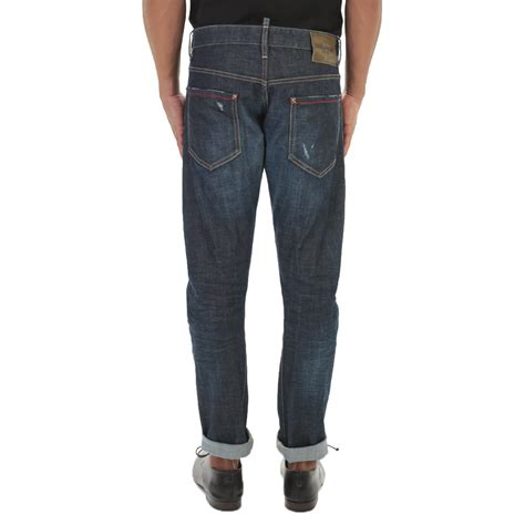 Buble Fit dsquared 178 blue denim michael buble in blue for