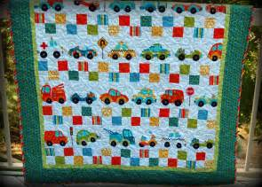 trucks and cars quilt pink polka dot creations