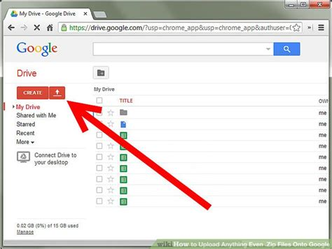google upload images how to upload anything even zip files onto google 9 steps