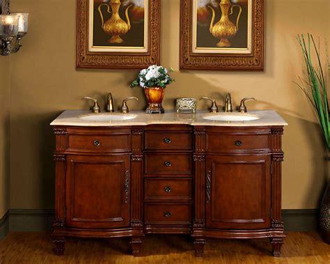 bathroom vanity cabinet travertine stone top lavatory double sink bowl  ebay