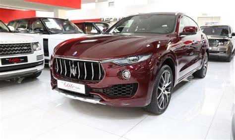 maserati maroon maserati levante quot s quot 2017 the elite cars the true