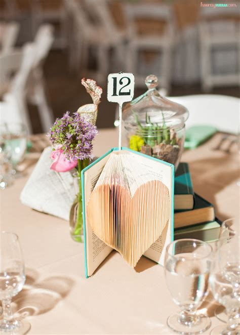 book wedding centerpieces creative wedding centerpieces with books wedwebtalks