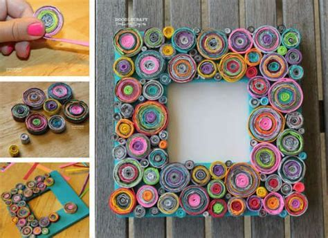 Photo Frames Handmade Ideas - 28 best images about handmade photo frame ideas on