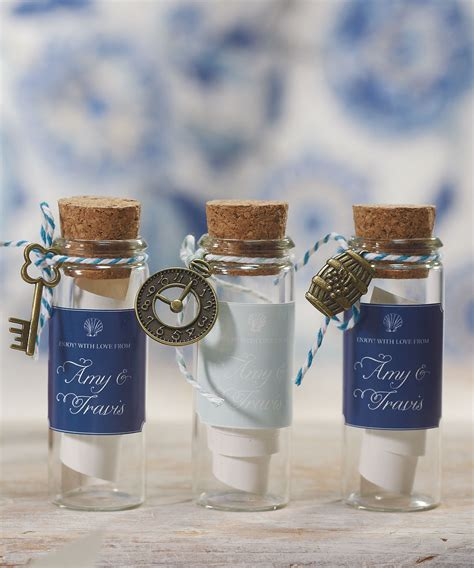 Wedding Favors Bottles by 12 Clear Glass Mini Bottle With Cork Wedding Bridal