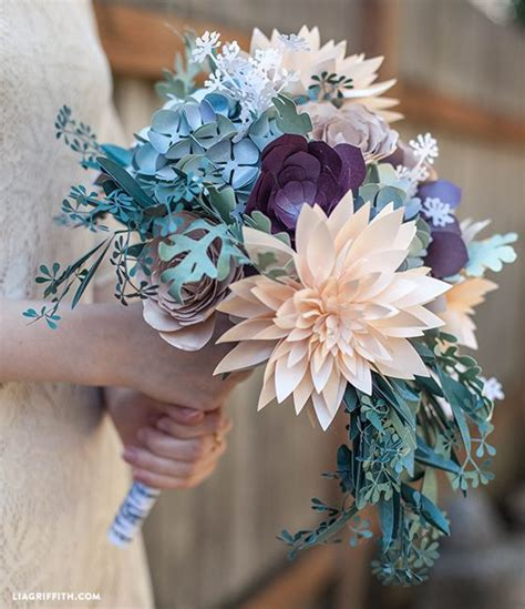How To Make Bouquet Of Paper Flowers - 17 best images about paper flowers on paper
