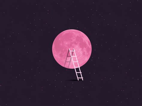 what is a pink moon pink full moon tonight by kira chao dribbble