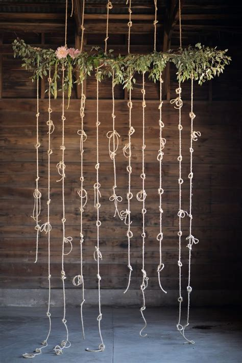 Knot Wedding Backdrop by Best 25 Tie The Knots Ideas On Easy Tie Knot