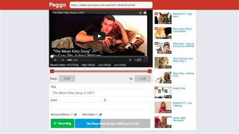 download mp3 youtube lifehacker peggo converts youtube videos to audio for offline
