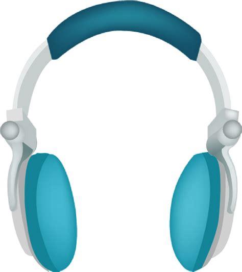 headphone clipart blue headphones clip at clker vector clip