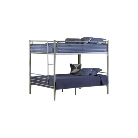 Silver Bunk Beds Hillsdale Universal Youth Metal Bunk Bed In Silver 1178fbb