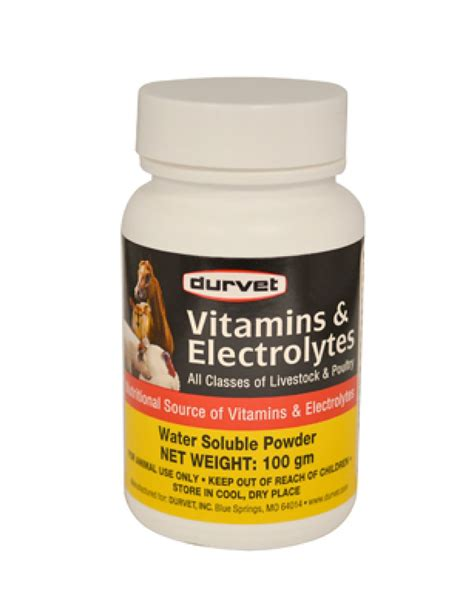 supplement electrolytes durvet vitamins electrolytes coastal