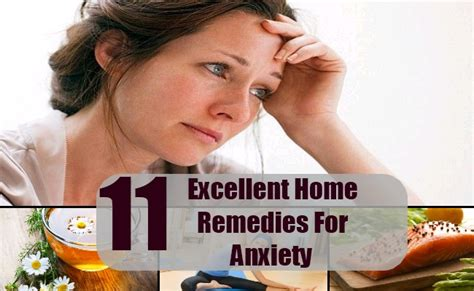Home Remedies For Anxiety by 11 Excellent Home Remedies For Anxiety Cure