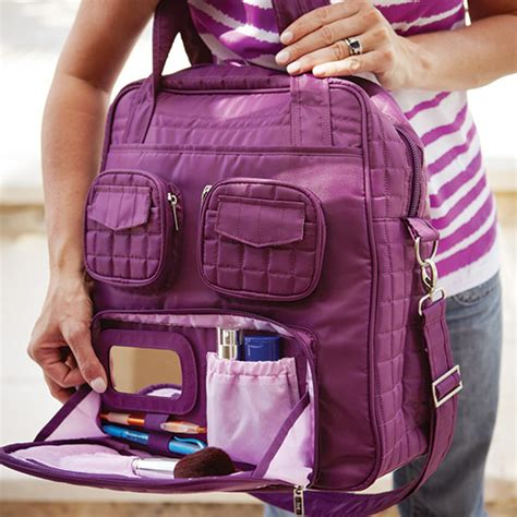 Promo Palomino Handbag Plum astro canada promotions win a free lug puddle jumper bag 100 value plus a chance to win a