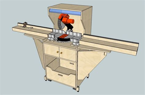chop saw bench plans how to build miter saw stand plans pdf plans