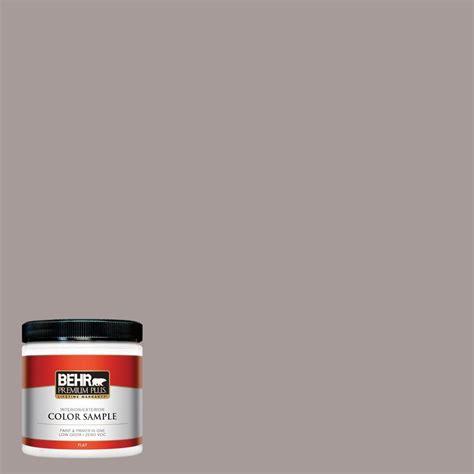 behr premium plus 8 oz ppu17 12 smoked mauve flat interior exterior paint sle pp10416 the