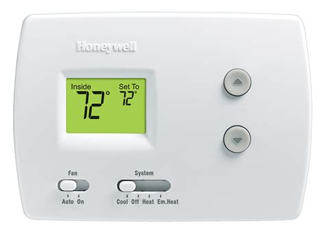 honeywell non programmable thermostat wiring diagram wire