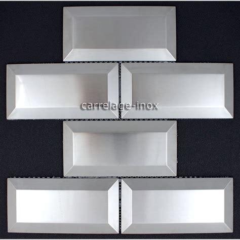 carrelage inox cuisine carrelage metro inox mosaique cr 233 dence cuisine metro