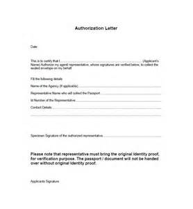 Authorization Letter As A Representative Authorization Letter For Representative Free Authorization Letter For Representative Free