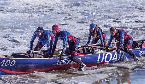 canoes he was ice he uqar s ice canoe team is making waves in arctic research