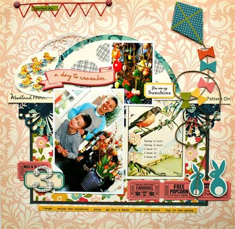 Scrapframe Scrapbook Layout A Day To Remeber 790 best scrapbooking october afternoon images on