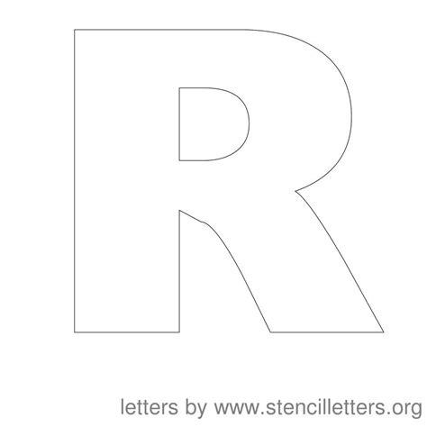 free printable alphabet stencils printable free r printable letters r letters exle
