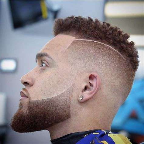 taper fade with beard taper fade haircuts for men 56 cool tapered hairstyles
