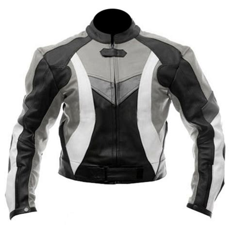 motorcycle biker jacket stylish motorcycle black grey biker jacket leather