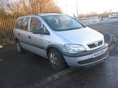 Rank Vauxhall Car Pictures 2004 Vauxhall Zafira