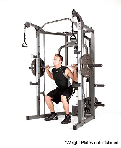 workouts with bench bar marcy smith cage machine with workout bench and weight bar home gym equipment sm 4008
