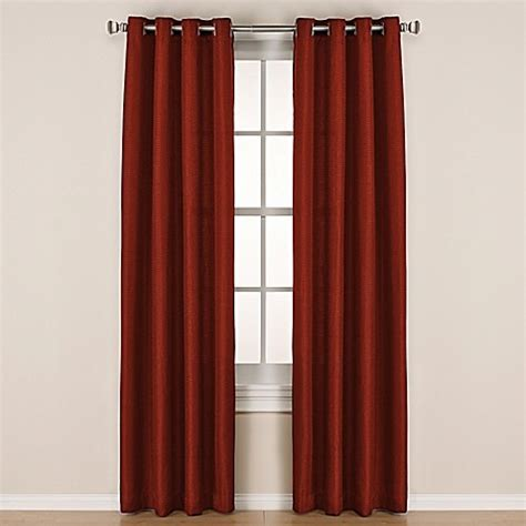 144 curtain panels buy reina 144 inch grommet window panel in spice from bed
