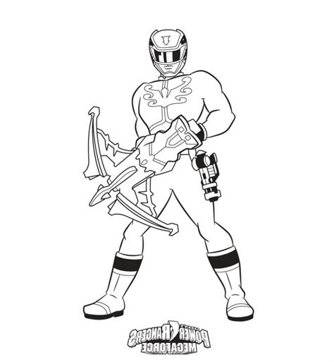 Power Ranger Book Coloring Home Power Rangers Megaforce Coloring Pages