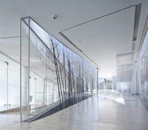 interior glass walls for homes unfolding modern clubhouse in china surrounded by nature