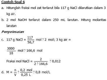 cara membuat larutan na 1000 ppm kimia macam macam konsentrasi ahmad satria anugrah bin