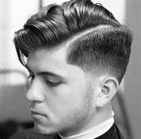 potong rambut belah pinggir gaya rambut pria pendek