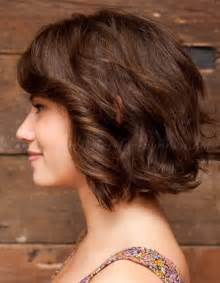 diagonal bob haircut curly hair bob hairstyles wavy bob hairstyle trendy hairstyles