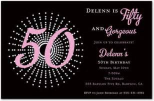 exclusive 50th birthday invitations ideas theruntime