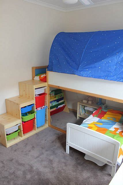 Ikea Bunk Bed Ladder 41 Best Images About Storage Ideas For Bedroom Playroom On Pinterest Whistler Toddlers