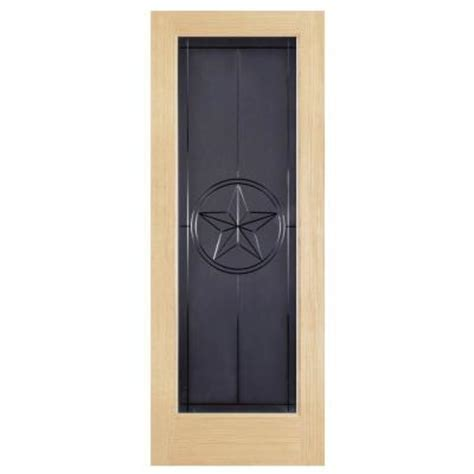 glass interior doors home depot steves sons texas star full lite solid core pine obscure