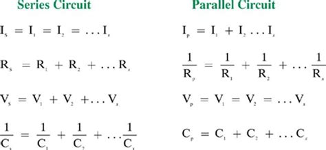 parallel circuits formulas series parallel circuit calculations series circuit and schematic wiring diagrams for you stored