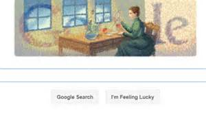 doodle daily mail curie doodle 144th birthday celebrated with