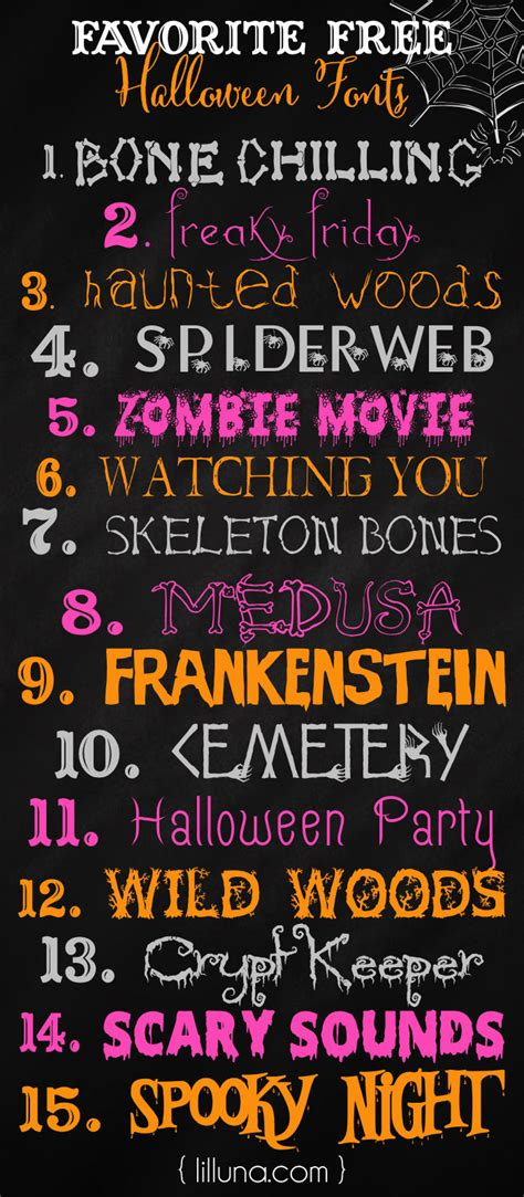 halloween themed team names free halloween fonts