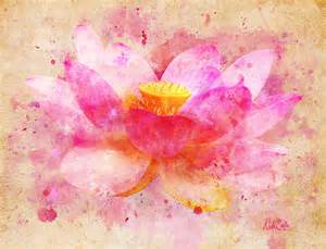 Abstract Lotus Flower Pink Lotus Flower Artwork And An Upcoming Collaboration