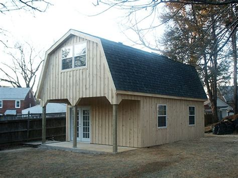 gambrel pole barn stick homes plans pole barn style roof 18 x30 custom