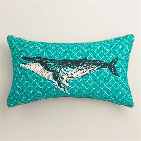 how to make a lumbar pillow humpback whale outdoor lumbar pillow world market