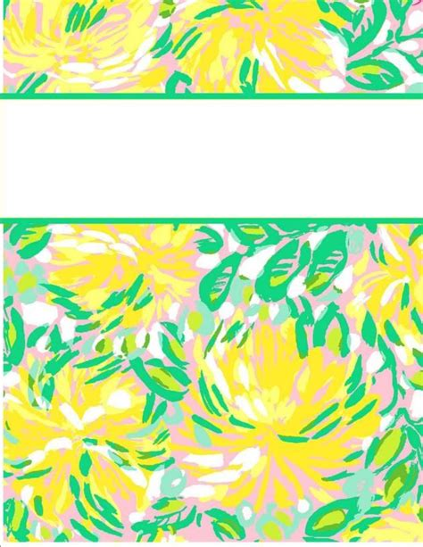 vera bradley printable binder covers my cute binder covers the o jays lilly pulitzer and