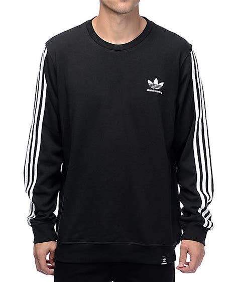 Adidas Men39s Authentic Logo Crew Sweatshirts Blue Original buy gt adidas crew neck sweater